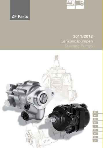 2011/2012 Lenkungspumpen Steering Pumps