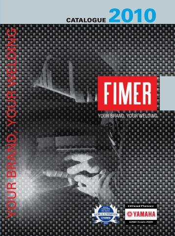 CATALOGUE 2010 - FIMER - welding machines