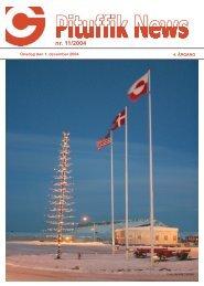 nr. 11/2004 Snerydning på Flight Line - Thuleab.dk
