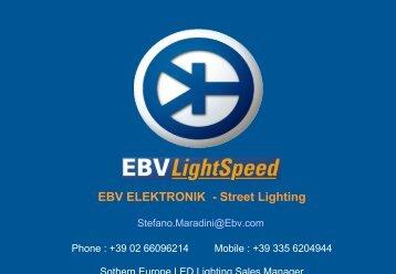 Per lo street lighting un insieme di tecnologie - Tecnoimprese