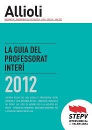 Guia del professorat interí - Intersindical Valenciana