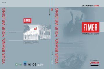 CATALOGUE 2008 - FIMER