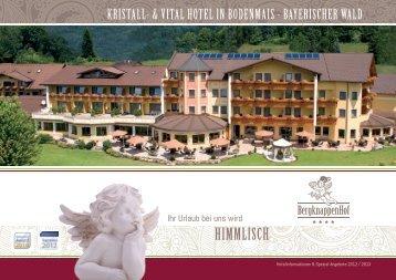 Unser neuer Hotelprospekt 2013 >> Download als PDF - Kristall und ...