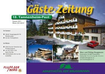 13. Tannenheim-Post - Hotel Bruggmann