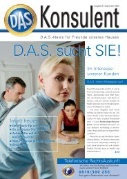 Konsulent - D.A.S. Österreichische Allgemeine Rechtsschutz ...