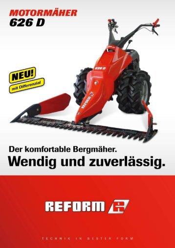 Mäher 626 - Landtechnik Rietzler