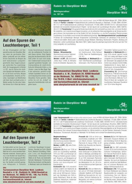 Foto Foto Auf den Spuren der Leuchtenberger ... - Oberpfälzer Wald