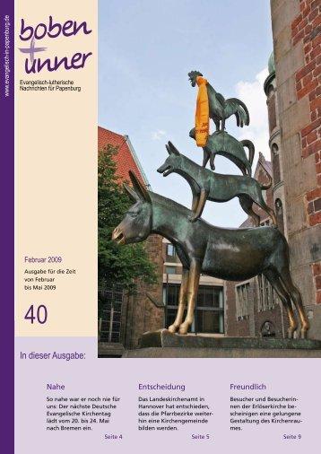 boben+unner 40 pdf - Kirchengemeinde Papenburg
