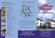 Herzlich Willkommen! Pension Haack - Thüringen