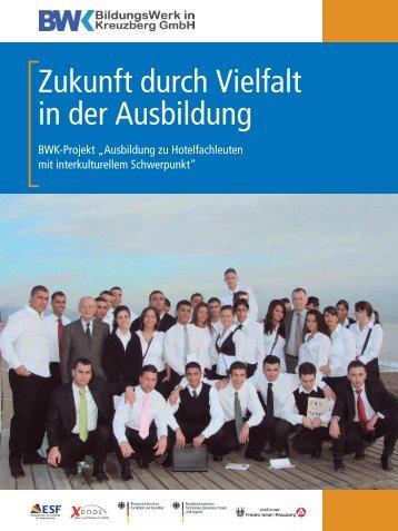Zukunft durch Vielfalt in der Ausbildung - BWK Berlin