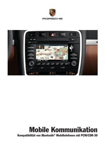 Bluetooth - Porsche