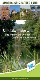 Vilstalwanderweg - Bayerischer Jura