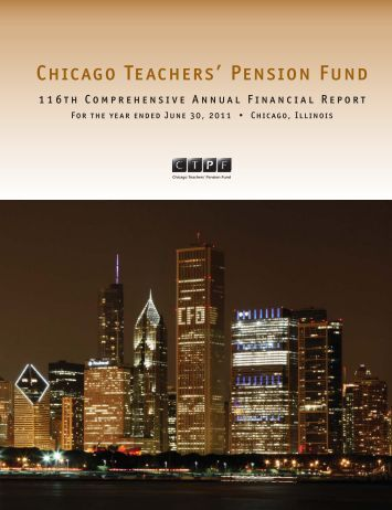 Chicago Teachers' Pension Fund - Public School Teachers