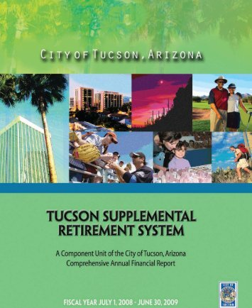 TUCSON SUPPLEMENTAL RETIREMENT SYSTEM ... - City of Tucson