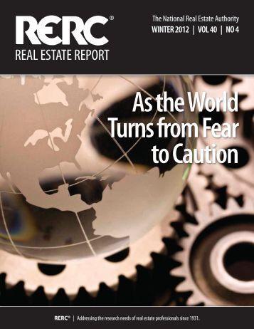 RERC Real Estate Report - REDI-net.com