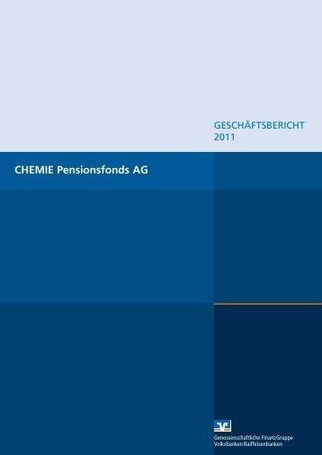 CHEMIE Pensionsfonds AG - R+V Versicherung