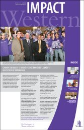 Winter 2008 - Development Office - University of Western Ontario