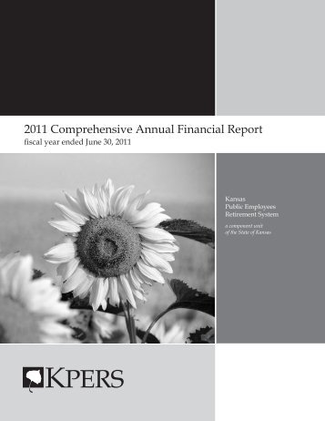 2011 Comprehensive Annual Financial Report - kpers