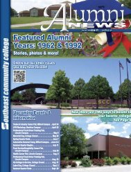 Alumni News Spring 2012 - Southeast Community College