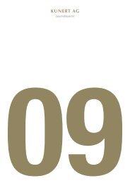 2009 - Kunert Fashion GmbH & Co. KG