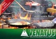 Lagerfeuer-Kochkursus mit Carsten Bothe - Venatus
