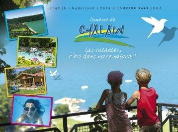 Klik hier te aanmelden ons catalogus - Domaine de Chalain