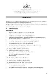 Protokoll von 2010-12-15 (259 KB) - .PDF - Mattsee