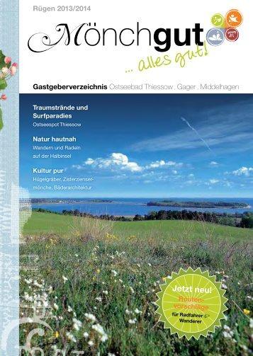 Mönchgut Katalog - Ostseebad Thiessow