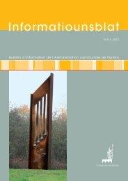 Bulletin d'information de l'Administration communale de Sanem