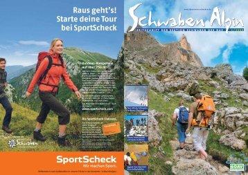 Raus geht's! Starte deine Tour bei SportScheck - DAV Sektion ...