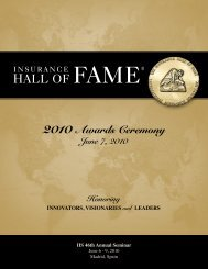 View the 2010 IIS Awards Ceremony Journal - International ...