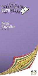Forum Innovation - Ronald Kaiser