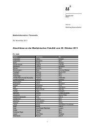 Liste der Abschlüsse (pdf, 78KB) - Abteilung Kommunikation