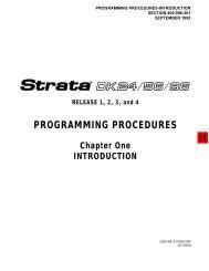 Strata DK 24-56-96 Programming procedure R1