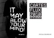 Cartes Flux 2010 Catalogue