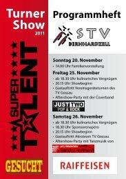 Turner Show - STV Bernhardzell