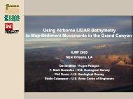 Using Airborne LiDAR Bathymetry to Map Sediment ... - Fugro Pelagos