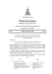 6. Pelan Pengurusan Lembangan Sungai Selangor 2007-2012