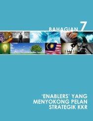"""bahagian 7 """"enablers"""" yang menyokong pelan strategik kkr"""