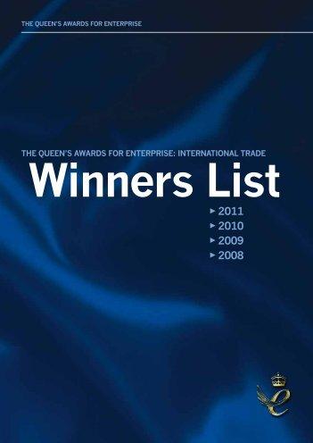 Winners List - nibusinessinfo.co.uk