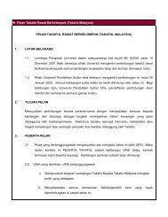 Pelan Takaful Rawat Berkelompok (Takaful Malaysia) PELAN ...