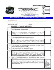 senarai semakan permohonan pelan kerja tanah - mppp - Majlis ...