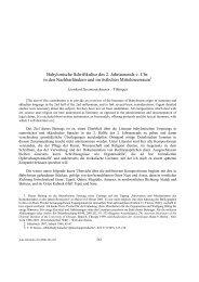 Babylonische Schriftkultur des 2. Jahrtausends v ... - Aula Orientalis