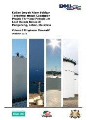 Volume I Ringkasan Eksekutif - Jabatan Alam Sekitar