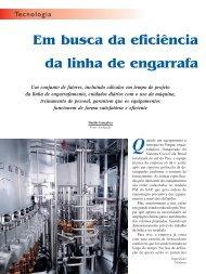 Linhas de Engarrafamento.p65 - Engarrafador Moderno