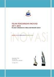 Pelan Pengurusan Inovasi 2011-2013 - Sabah