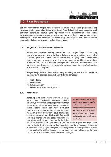 5.0 Pelan Pelaksanaan - JPBD Semenanjung Malaysia