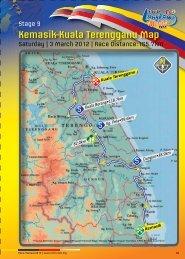 Kemasik-Kuala Terengganu Map - Le Tour de Langkawi
