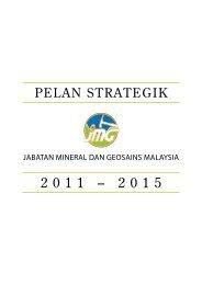 Pelan Strategik Jabatan Mineral dan Geosains Malaysia 2011 - JMG