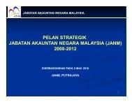PELAN STRATEGIK JABATAN AKAUNTAN NEGARA MALAYSIA ...
